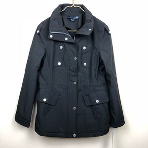 French Connection Softshell Black Jacket Size S